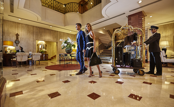 Sangar Security provides concierge security to meet the demanding needs of high-end clientele. Photo Courtesy: L'Hotel Porto Bay Sao Paolo