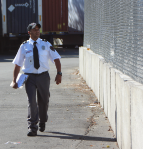 Sangar Security provides industrial security for industrial plants and manufacturing facilities.